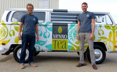 Alums expand Menno Tea business with mint farm and cafe