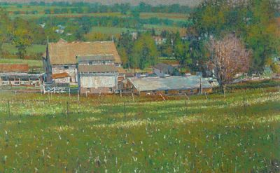 Library Gallery exhibit to feature Amish landscape paintings