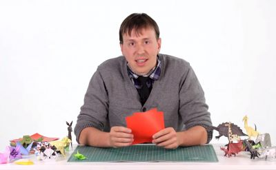 Ben Friesen '05 unfolds a career with origami
