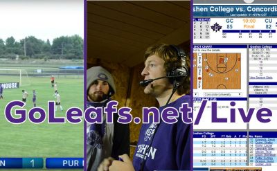 "Goshen College Unveils ""GoLeafs Live"" Athletic Streaming Portal"