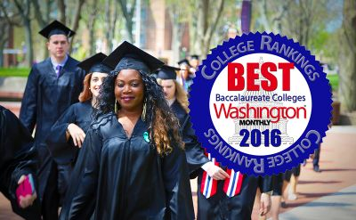 Goshen College ranked #3 nationally by Washington Monthly
