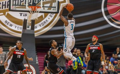 Errick McCollum '10 & Overseas Elite repeat as The Basketball Tournament champions