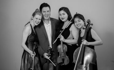 Award-winning Ulysses Quartet to perform Oct. 9