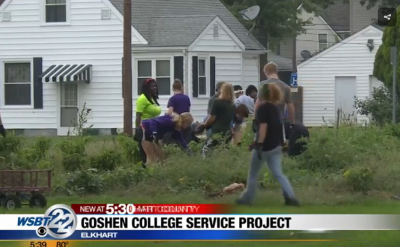 Goshen College students give back to the community – WSBT