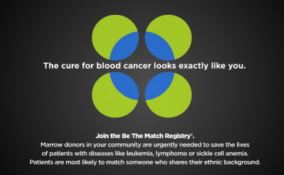 Be The Match flier