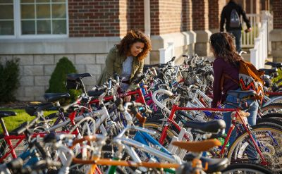 Goshen College honored with Bike Friendly University award