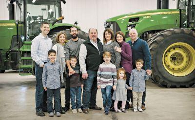 Curt Zehr family