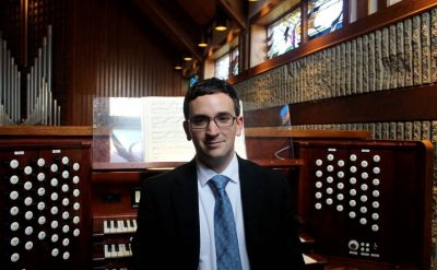 Rieth Chamber Series: Organist Aaron Sunstein