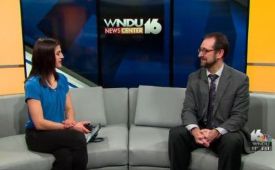 WNDU interview with Scott Hochstetler