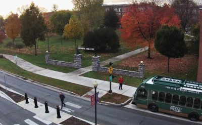 Goshen College and Interurban Trolley create free bus pass program for students, staff