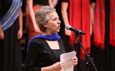 "Afternoon Sabbatical: Debra Detwiler Brubaker – ""Women's World Music Choir: 'Creating, Sustaining, Disrupting'"""
