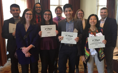 Record staff with their awards at the ICPA conference in Indianapolis on April 8.