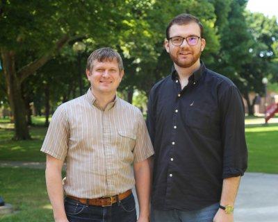 Justin Heinzekehr and Rudin Mucaj