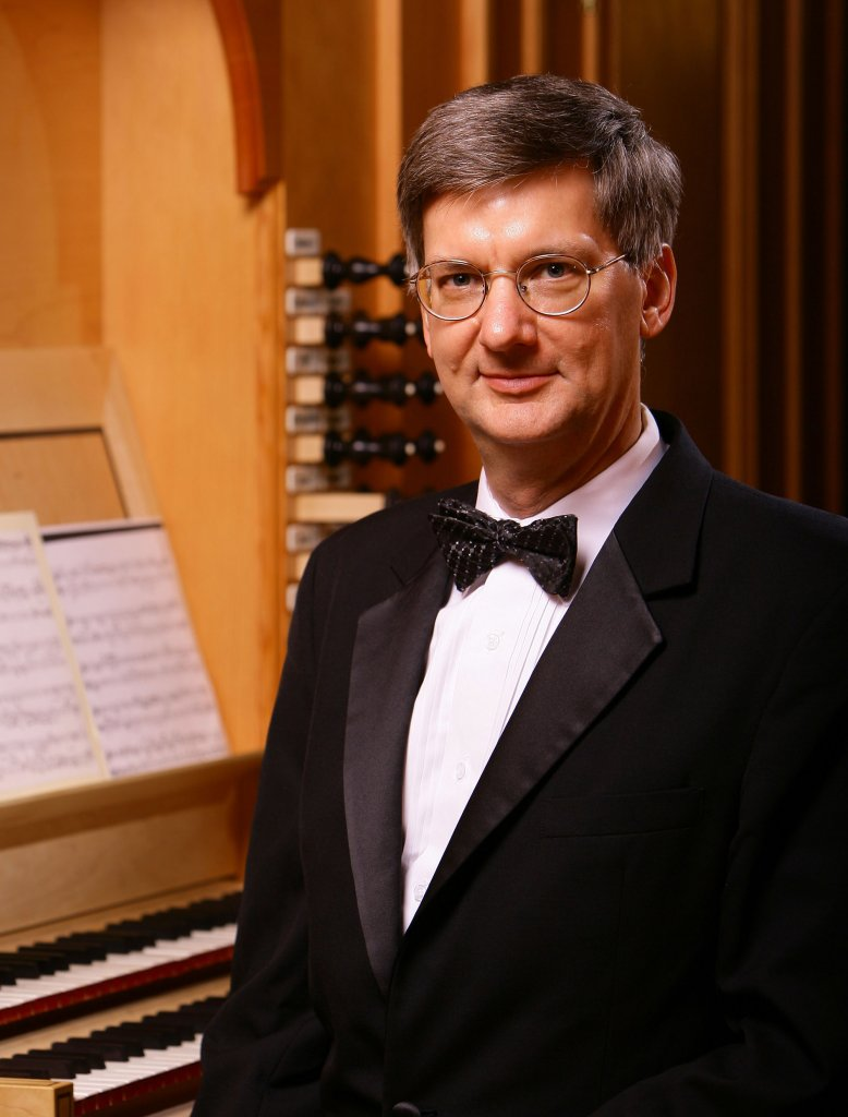 Craig Cramer in a suit and bow tie