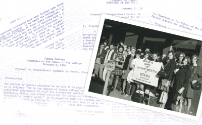 Picture and letters from the first Study Service Term to Costa Rica
