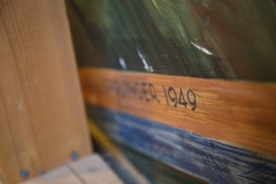Painting with the date 1949 on it