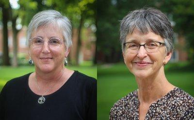 Head shots of Beth Birky and Jan Shetler.