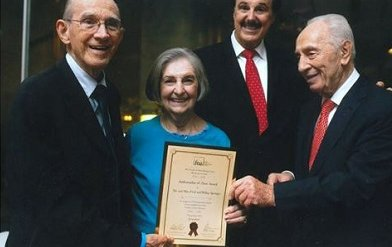Wilma Marie Springer '56 presented with Albert Nelson Marquis Lifetime Achievement Award.
