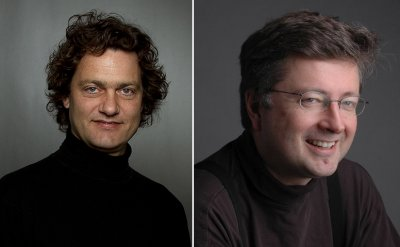 Headshots of Njål Sparbo and Einar Røttingen