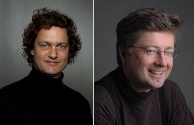 Headshots of Njål Sparbo and Einar Røttingen