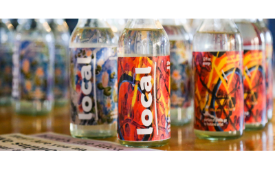 'Local' soft drink bottles