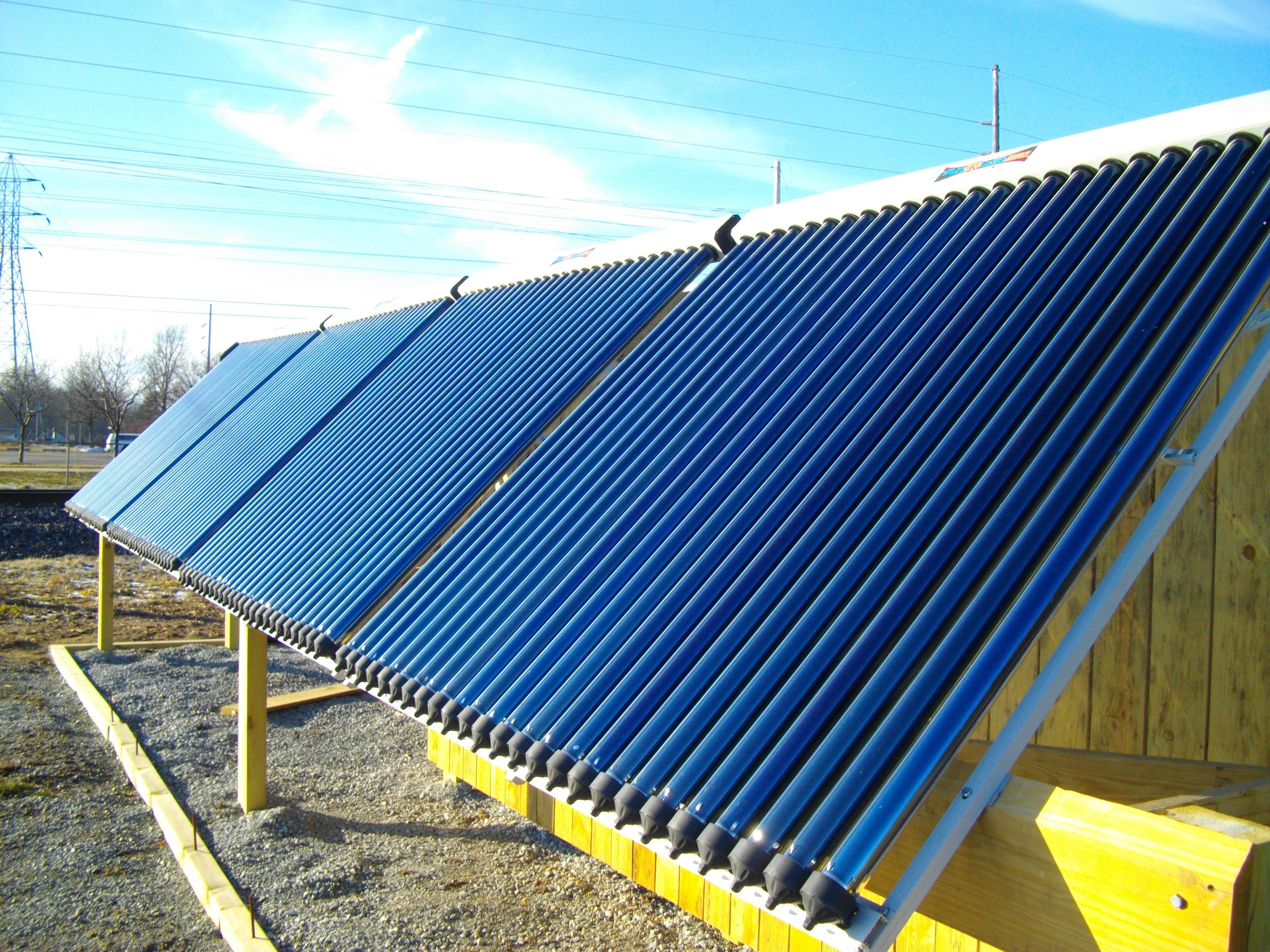 SunShower Solar Collector | Goshen College