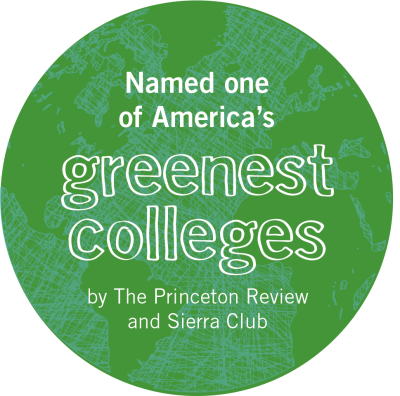 Goshen College was named one of America's greenest colleges by The Princeton Review and Sierra Club