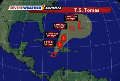 Hurricane/Tropical Storm Tomas