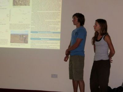 Final Research Presentations