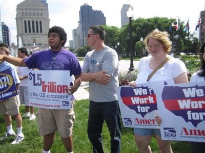 Rally- Peace Not Hate: No S.B. 1070 in Indiana