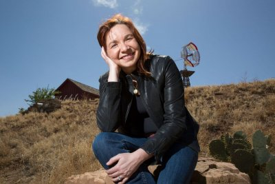 Dr. Katharine Hayhoe, Photo credit: Ashley Rodgers, Texas Tech University.