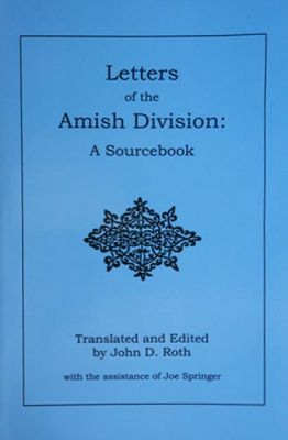 Letters of Amish Division